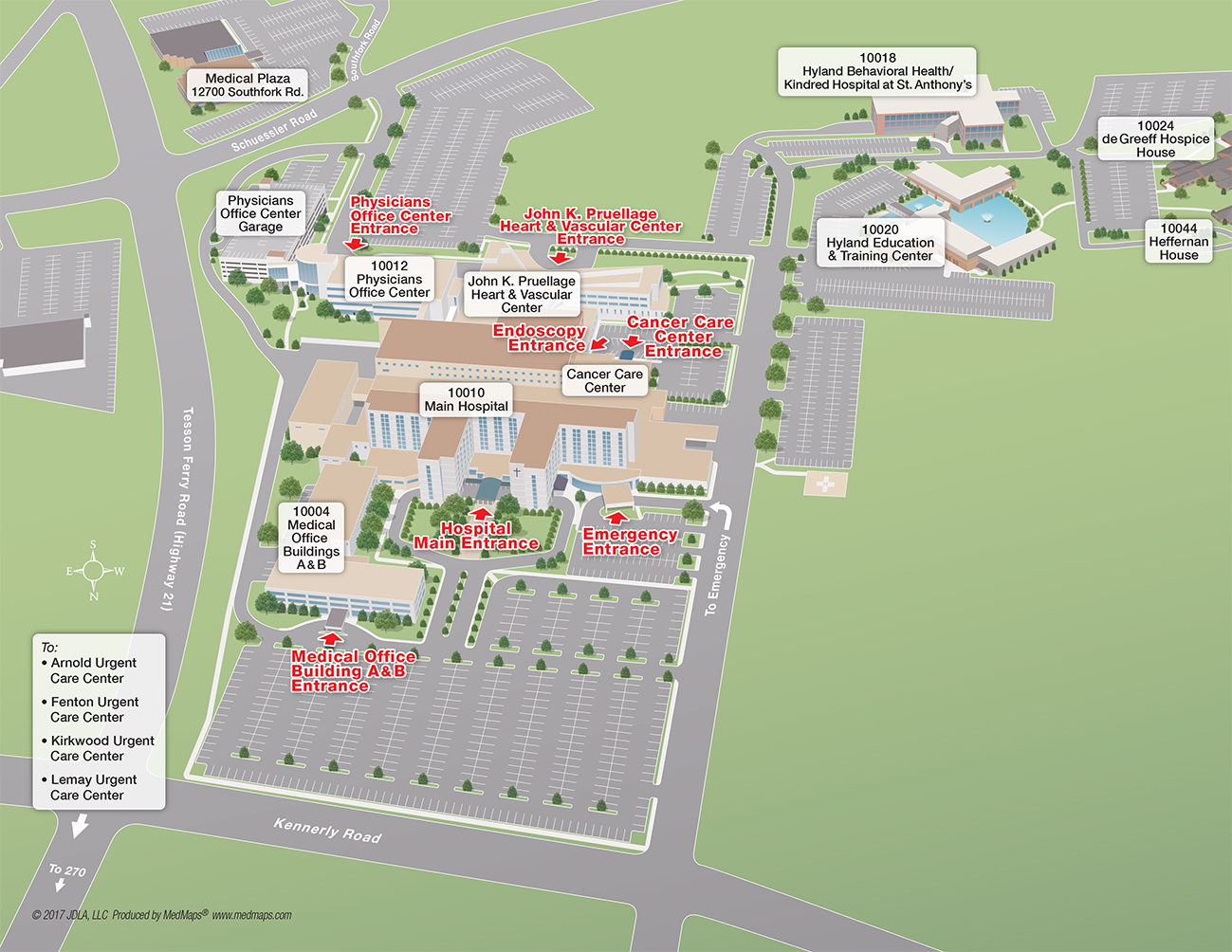 Mercy Hospital Campus Map.Mercy Hospital Map Map Of Barbados